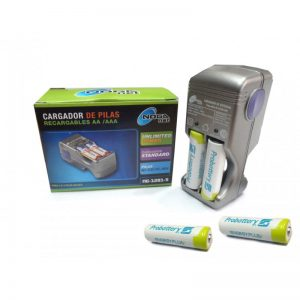 Cargador Noganet 1281+4 Pilas 2100 Aa Probattery Pre-charged