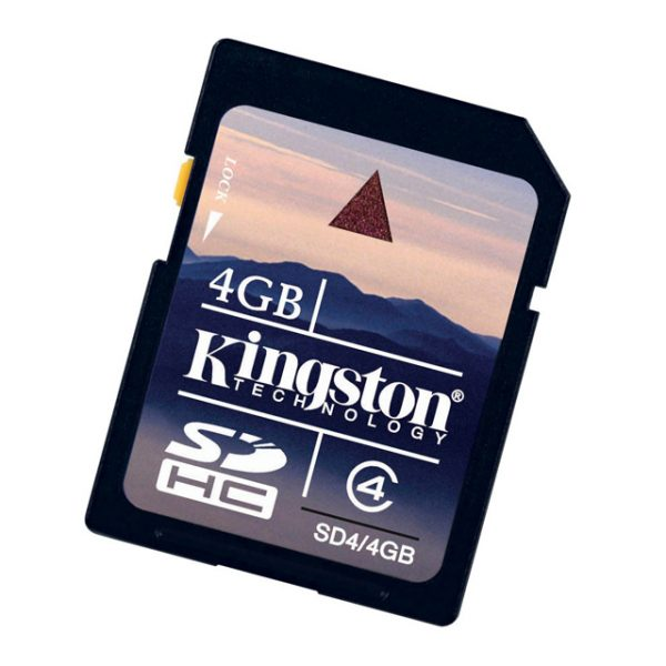 "Memoria SD HC 4GB ""Kingston"""