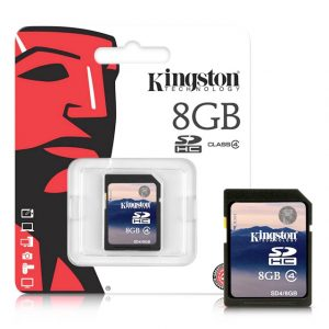 "Memoria SD HC 8GB ""Kingston"""