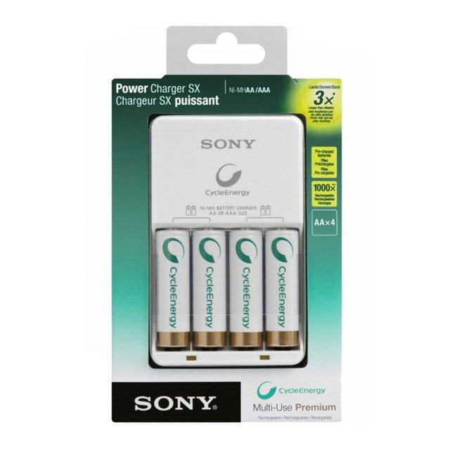 Cargador pilas AA/AAA Sony Original