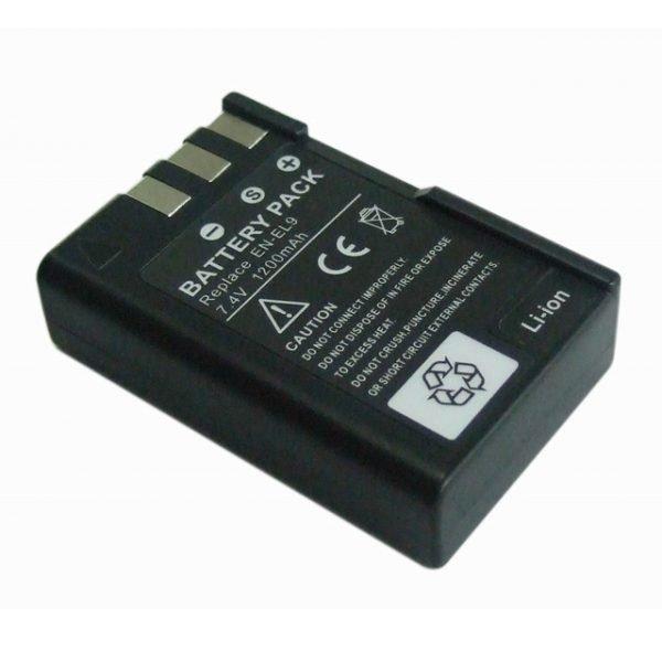 Batería tipo NIKON EN-EL9