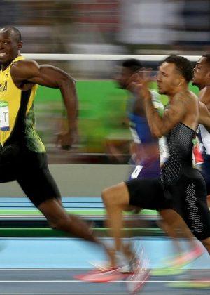 Cámara Canon capta el vuelo de Usain Bolt