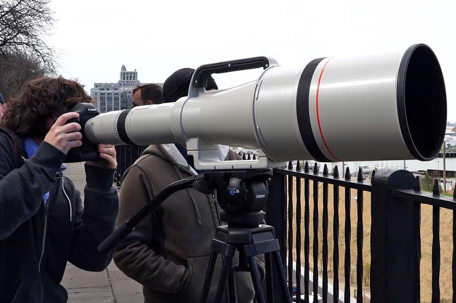 Lente Teleobjetivo Canon 1200 mm