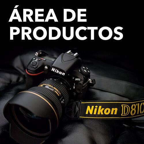 Área de productos Audifoto